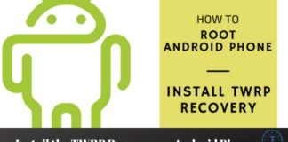 Install the TWRP Recovery on Android Phone