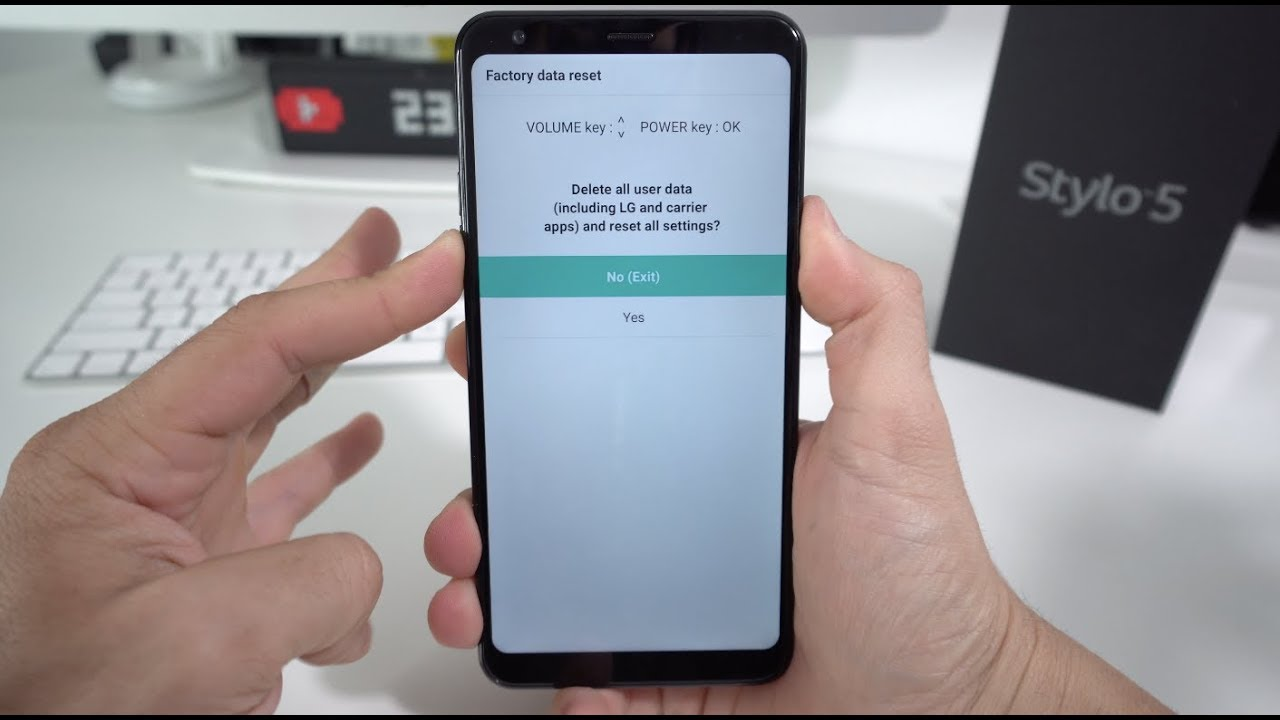 How To Hard Reset On Lg Stylo 5 Full Guide Manual Guide