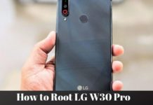 How to Root LG W30 Pro
