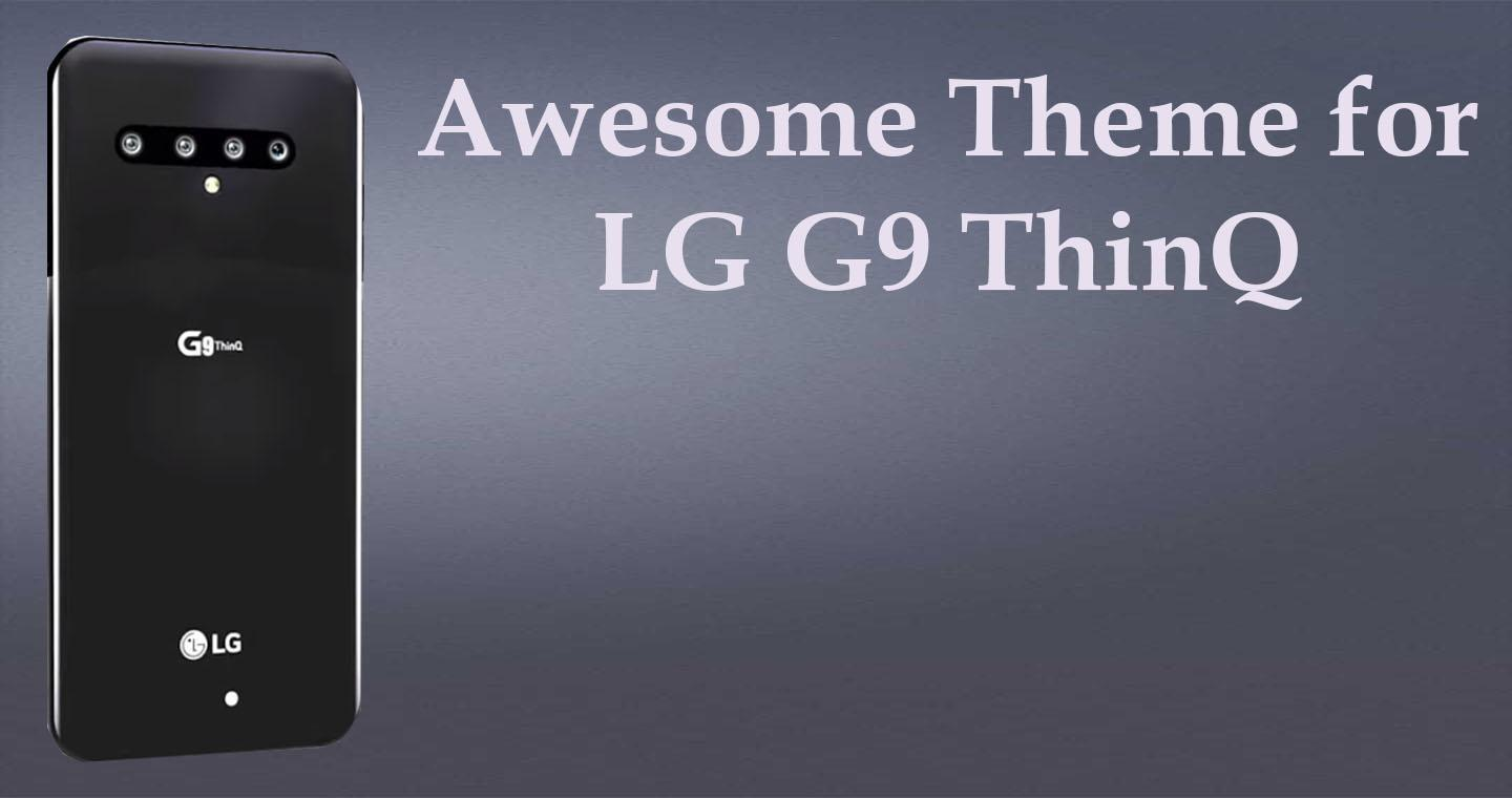 LG G9 ThinQ features