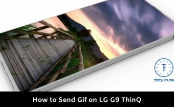 How to Send Gif on LG G9 ThinQ
