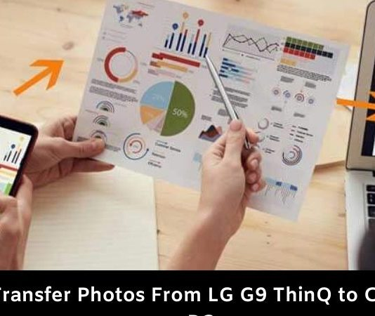 How to Transfer Photos From LG G9 ThinQ to Computer or PC