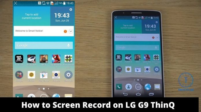 How to Screen Record on LG G9 ThinQ