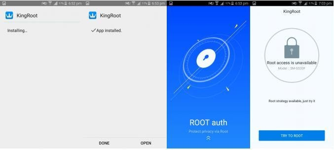 Kingroot application