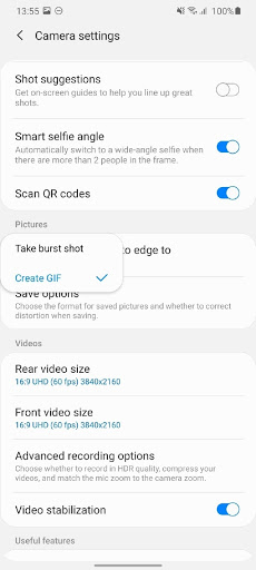 How to Send GIF on Samsung Galaxy S20