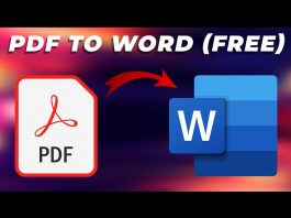 The Fastest Way To Convert Your PDF Files Into Word