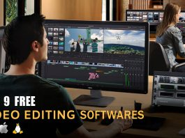Top 9 Free Video Editing Software
