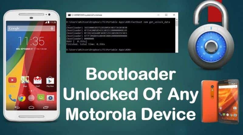 How to Unlock bootloader on Motorola Phones via Kingoroot