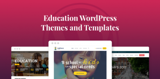 Premium WordPress Education Themes
