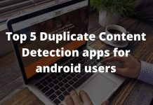 Duplicate Content Detection apps